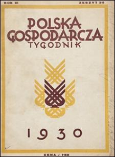 Polska Gospodarcza 1930 nr 30