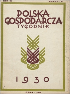 Polska Gospodarcza 1930 nr 31
