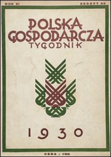 Polska Gospodarcza 1930 nr 33