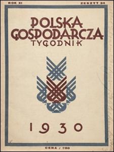 Polska Gospodarcza 1930 nr 34