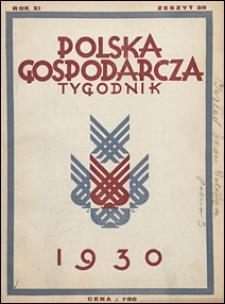 Polska Gospodarcza 1930 nr 35