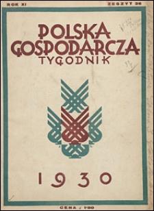 Polska Gospodarcza 1930 nr 36