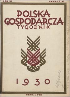 Polska Gospodarcza 1930 nr 37