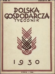 Polska Gospodarcza 1930 nr 39