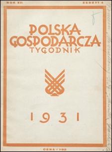 Polska Gospodarcza 1931 nr 4