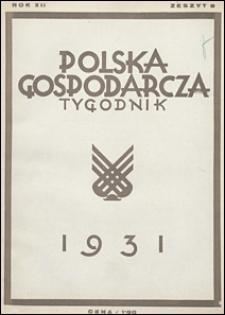 Polska Gospodarcza 1931 nr 8