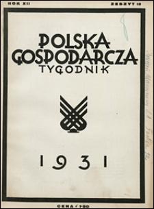 Polska Gospodarcza 1931 nr 10