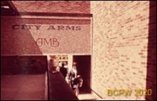 Centrum miasta, dom handlowy, fragment budynku, Coventry, Anglia, Wielka Brytania