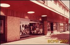 Centrum handlowe osiedlowe, wystawy sklepowe, Crawley, Anglia, Wielka Brytania