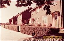 Domy szeregowe jednopiętrowe, widok ogólny, Crawley, Anglia, Wielka Brytania