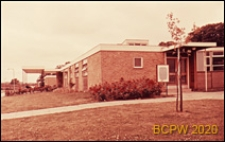 Ośrodek Zdrowia, widok zewnętrzny, Harlow, Anglia, Wielka Brytania