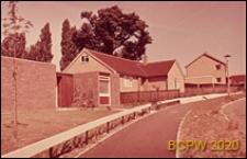 Dom jednorodzinny, widok od strony ulicy, Hatfield, Anglia, Wielka Brytania