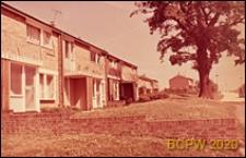 Dom w zabudowie szeregowej, widok ogólny, Hatfield, Anglia, Wielka Brytania