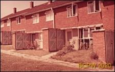 Domy szeregowe jednopiętrowe, widok zewnętrzny, Hatfield, Anglia, Wielka Brytania