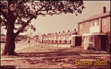 Zabudowa mieszkaniowa, widok ogólny, Hatfield, Anglia, Wielka Brytania