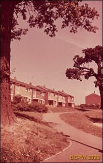 Zabudowa szeregowa w krajobrazie, Hatfield, Anglia, Wielka Brytania