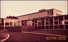 Szkoła II stopnia dla dziewcząt, fragment budynku, Hatfield, Anglia, Wielka Brytania