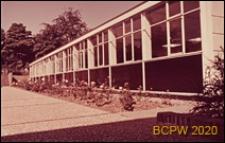 Szkoła II stopnia dla chłopców, pawilon, Hatfield, Anglia, Wielka Brytania