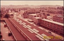 Śródmieście, widok z góry na zabudowę, Hemel Hempstead, Anglia, Wielka Brytania