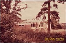 Szkoła podstawowa, budynki szkolne w krajobrazie, Hemel Hempstead, Anglia, Wielka Brytania