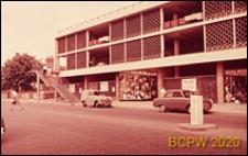 Parking piętrowy, elewacja budynku, Hemel Hempstead, Anglia, Wielka Brytania