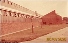Zakłady przemysłowe, elewacja budynku, Hemel Hempstead, Anglia, Wielka Brytania