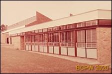 Zakłady przemysłowe, fragment budynku, Hemel Hampstead, Anglia, Wielka Brytania