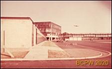 Dworzec lotniczy i płyta lotniska, Gatwick Aiport, Anglia, Wielka Brytania