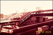 Stacja kolejowa, widok ogólny, Gatwick Aiport, Anglia, Wielka Brytania