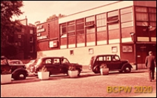 Zachodni terminal dworca lotniczego, widok zewnętrzny, Gatwick Aiport, Anglia, Wielka Brytania