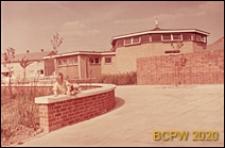 Przedszkole, widok zewnętrzny, Stevenage, Anglia, Wielka Brytania