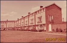 Nowa część miasta, fragment zabudowy mieszkaniowej, Welwyn Garden City, Anglia, Wielka Brytania
