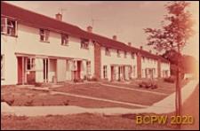 Fragment zabudowy mieszkaniowej, Welwyn Garden City, Anglia, Wielka Brytania