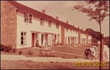 Zabudowa mieszkaniowa szeregowa, Welwyn Garden City, Anglia, Wielka Brytania