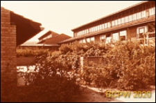 Szkoła, pawilony klasowe, widok zewnętrzny, Aarhus, Dania