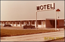 Motel, widok zewnętrzny, Aarhus, Dania