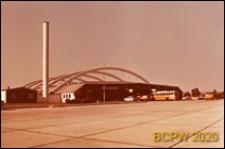 Zajezdnia autobusowa, widok ogólny, Aarhus, Dania