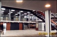 Port lotniczy Kastrup, hala odpraw celnych, wnętrze, punkt informacji na lotnisku, Kopenhaga, Dania