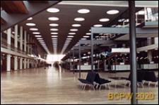 Port lotniczy Kastrup, hala odpraw celnych, wnętrze, Kopenhaga, Dania