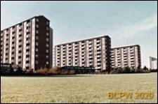 Osiedle mieszkaniowe Brondbyparken, wieżowce, widok ogólny, Kopenhaga, Dania