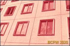Osiedle Czeremuszki, kwartał 9, wieżowiec mieszkalny, fragment elewacji, Moskwa, Rosja