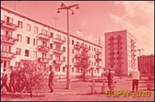 Osiedle Czeremuszki, kwartał 9, budynek mieszkalny czterokondygnacyjny, elewacja budynku, Moskwa, Rosja
