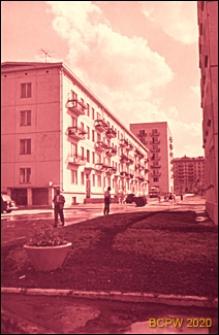 Osiedle Czeremuszki, kwartał 13, wnętrze międzyblokowe, Moskwa, Rosja