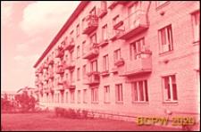 Osiedle Czeremuszki, dom czterokondygnacyjny, elewacja budynku, Moskwa, Rosja