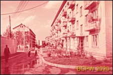 Osiedle Czeremuszki, uliczka w osiedlu, Moskwa, Rosja