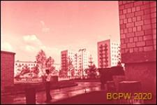 Osiedle Czeremuszki, fragment zabudowy, Moskwa, Rosja