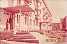 Osiedle Czeremuszki, wejścia do budynku mieszkalnego, Moskwa, Rosja