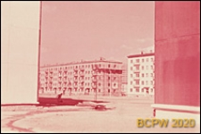 Osiedle Czeremuszki, wnętrze międzyblokowe, Moskwa, Rosja