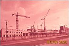 Dzielnica południowo-zachodnia, budynki mieszkalne w trakcie budowy, Moskwa, Rosja