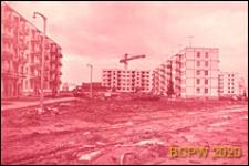 Dzielnica południowo-zachodnia, pięciokondygnacyjne budynki mieszkalne z wielkiej płyty, Moskwa, Rosja